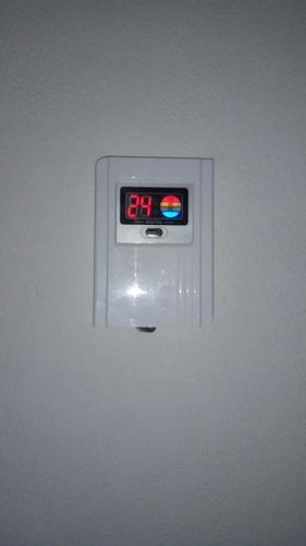 sensor de temparatura c/ display y visor termotanque solar
