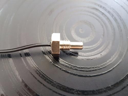 sensor de temperatura ntc 10 k  +-1%  rosca m6 cabo 3 metros