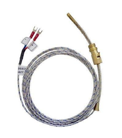 sensor de temperatura termoelemento k 6mm cabo 2mt sibratec