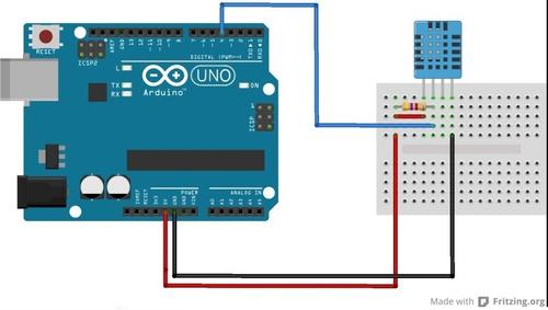 sensor de temperatura y humedad digital dht11 - arduino kits