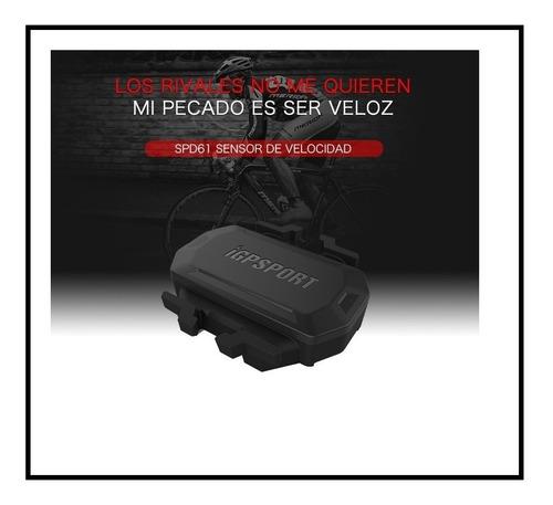 sensor de velocidad bicicleta ant+ bluetooth(garmin,igp,etc)