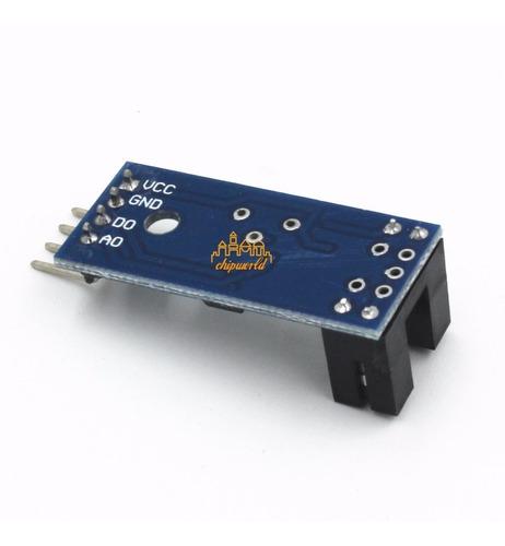sensor de velocidad optico arduino raspberry pi