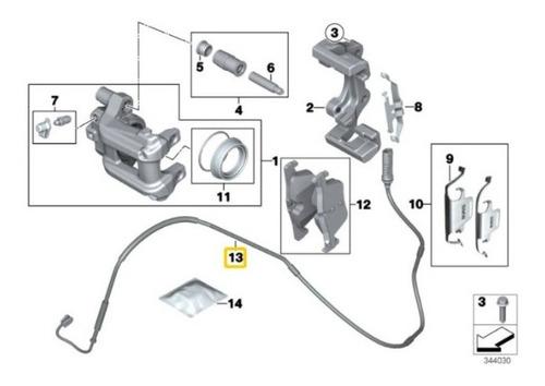 sensor desgaste pastilha freio bmw 320i dianteiro