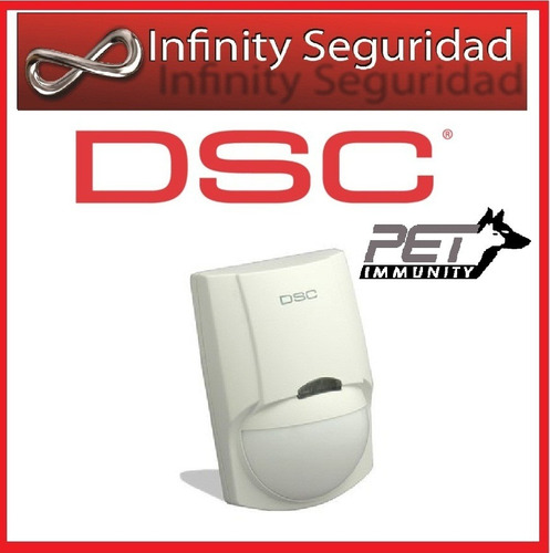 sensor detector de movimiento infrarrojo dsc lc100 pi