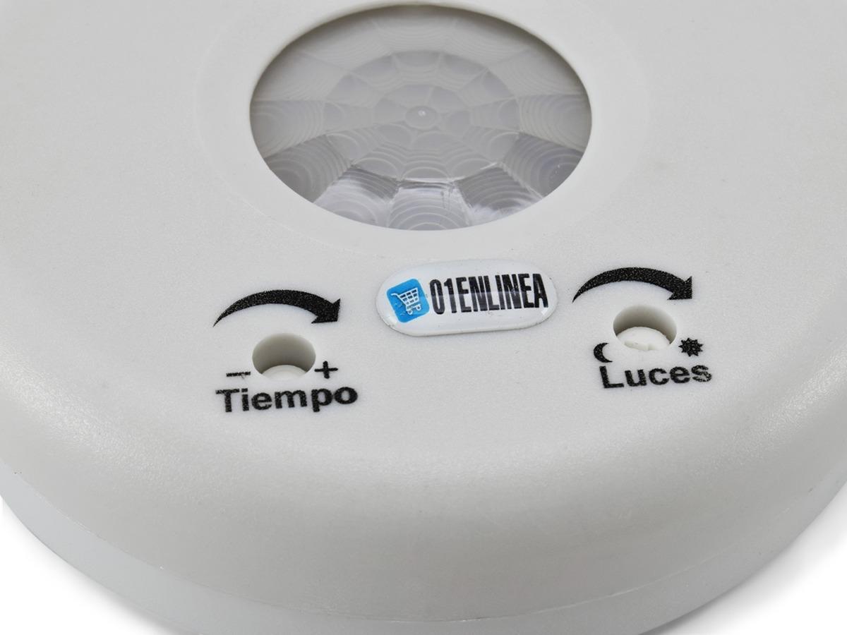 Sensor Detector Movimiento Para Luz Baño Pasillo 10a Rbc 103 614