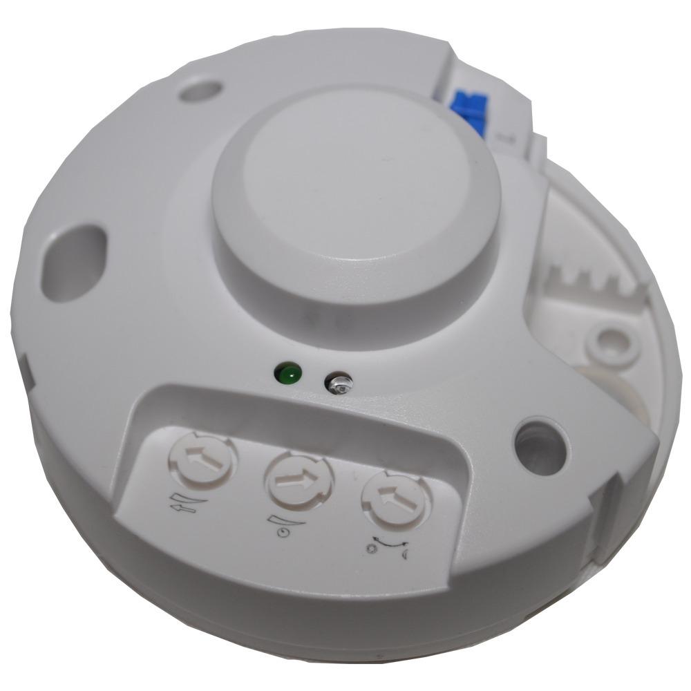 Sensor Detector Movimiento Para Luz Baño Pasillo 1200w Radar 863
