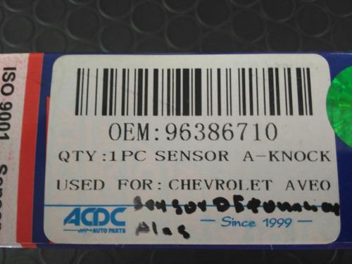 sensor detonación aveo