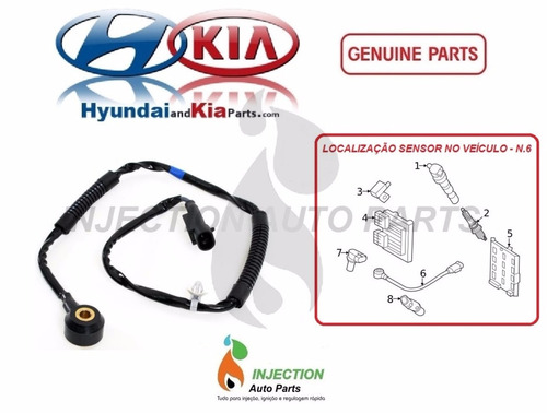 sensor detonação hyundai azera vera cruz 393203c000 original