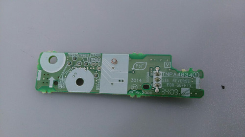 sensor do controle remoto panasonic tc-l32c10b