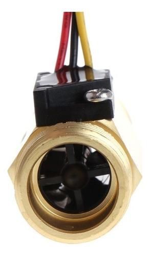 sensor do fluxo de água g 1/2 cobre fluxímetro