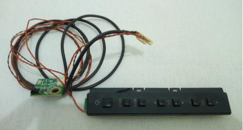 sensor e controle de unidade de teclas completa