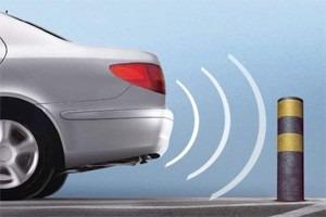 sensor estacionamento para-choques de ferro
