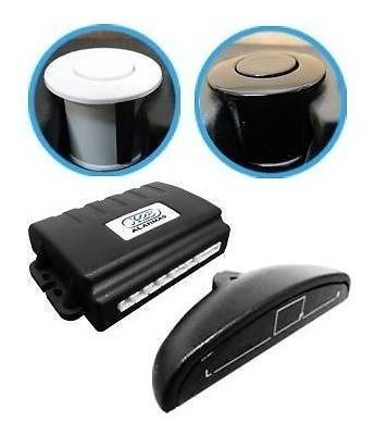 sensor estacionamiento x-28  color negro con display