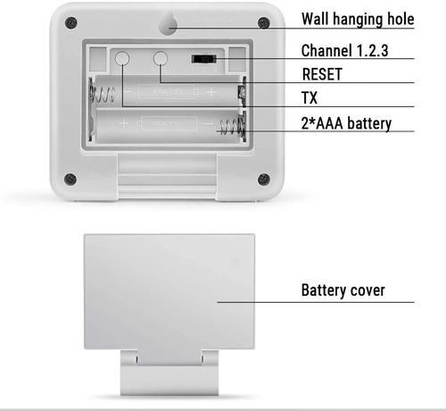 sensor externo inalámbrico para termohigrómetro thermopro