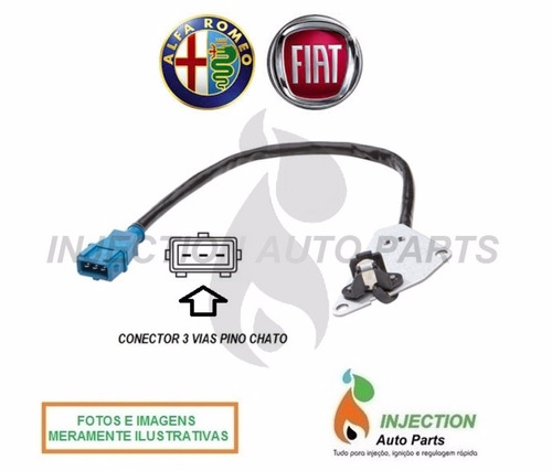 sensor fase fiat marea weekend 1.8 2.0 16v turbo 99 diante