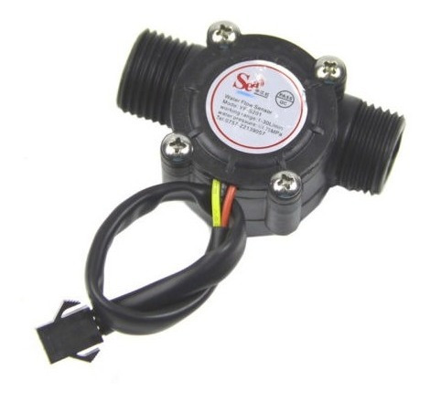 sensor fluxo água
