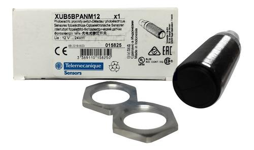sensor foto-eléctrico telemecanique sn 0,6m xub5bpanm12