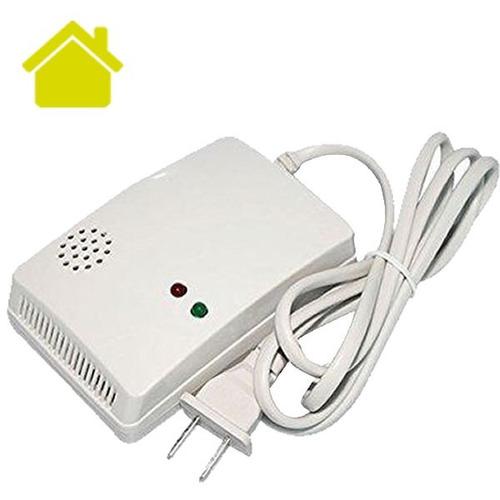 sensor gas lp butano para alarma gsm alerta led casa negocio