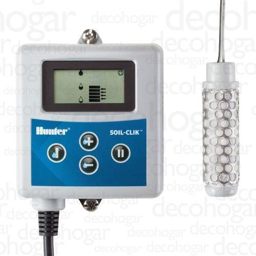 sensor humedad automático hunter riego soil clik cuotas