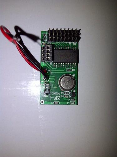 sensor inalámbrico alarmas cerco eléctrico dvr 433 mhz gsm