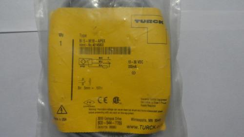 sensor inductivo con cable bi 5-m18-ap6x marca turck