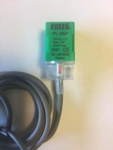 sensor inductivo de proximidad pnp 3 hilos fotek pl-05p