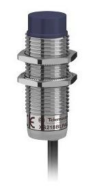 sensor indutivo cc d18 na 8mm cabo telemecanique xs218blpal2