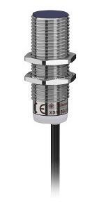 sensor indutivo cc d18 pnp na 5mm cabo; schneider xs118blpal2
