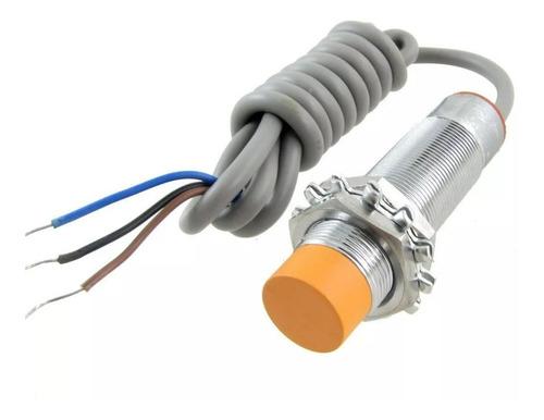 sensor indutivo npn 8mm lj18a3-8-z/bx pic automação