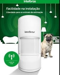sensor infra 20kg s/fio ivp 4101 pet smart intelbras