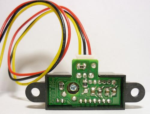 sensor  infra rojo sharp gp2y0a02y  sumo arduino robot pic