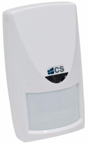 sensor infra vermelho e microondas com fio àrea semi aberta
