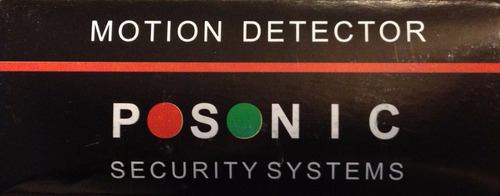 sensor infra vermelho passivo (cortina) - ps-460 - posonic