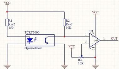 sensor infrarojo  1 paquete tcrt5000 ( 12 piezas )