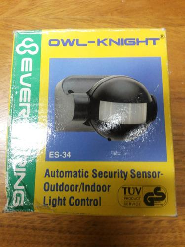 sensor infrarrojo nocturno de movimiento modelo es-34
