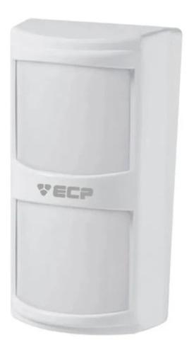 sensor infravermelho ecp com fio visory duplo pir