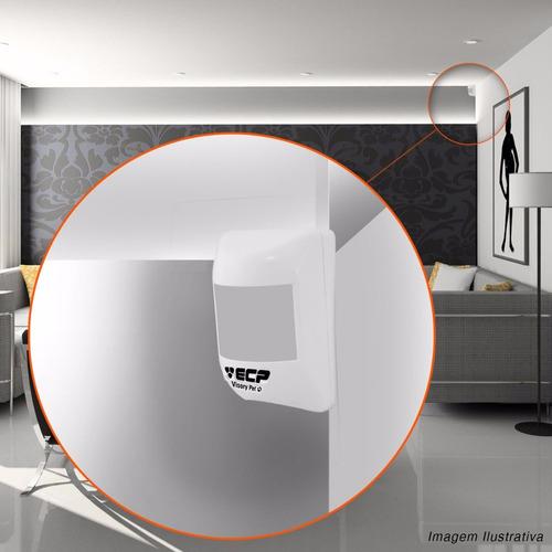 sensor infravermelho ivp visory pet ecp imune até 20kg