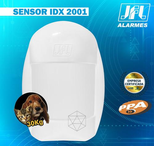 sensor infravermelho pet 20kgs  idx-2001 com fio jfl