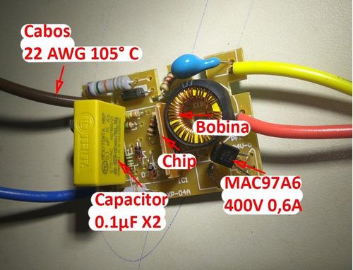sensor interruptor de 1 toque para abajur lâmpadas até 60 w