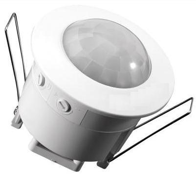 Sensor interruptor de movimiento pir para techo plafon for Plafon pared led con sensor pir