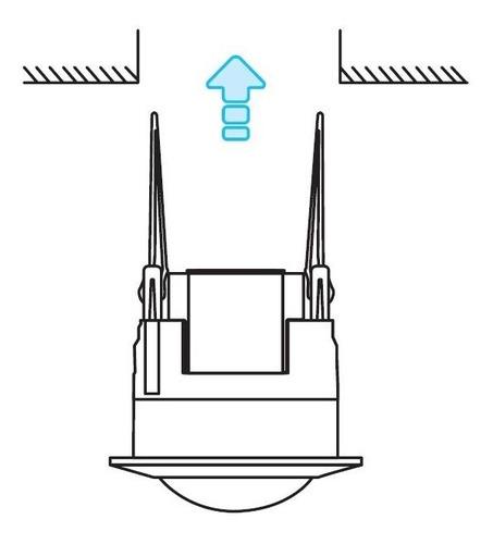 sensor interruptor de movimiento (pir) para techo plafon