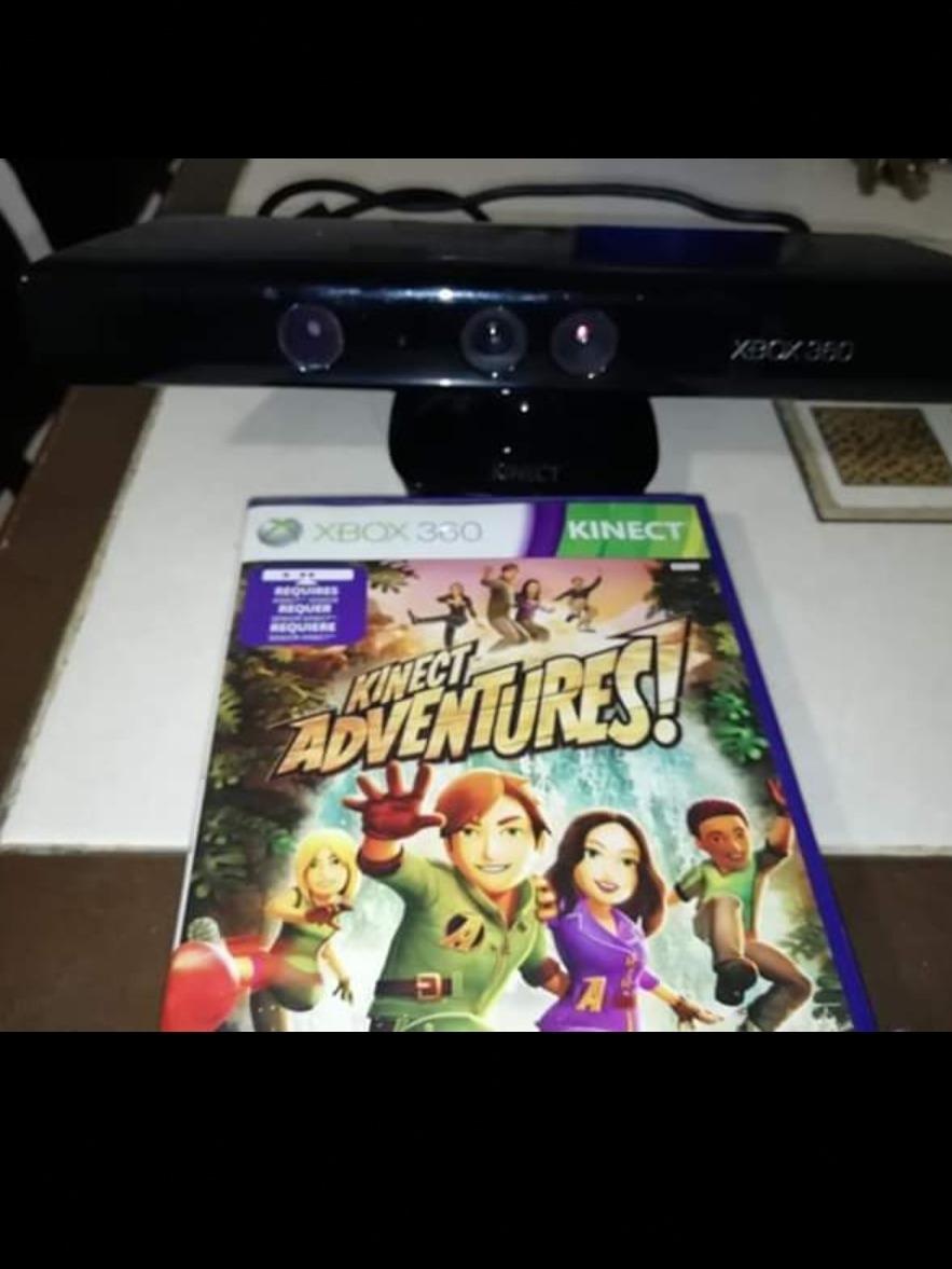 Sensor Kinect Para Xbox 360 Con Juego Y Envio Gratis 750 00 En