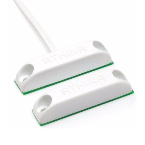 sensor magnetico com fio de sobrepor