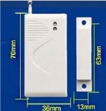 sensor magnetico inalambrico 433mhz usa 1 bat. 123