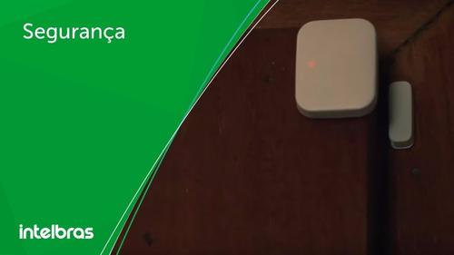 sensor magnético portas e janelas s/ fio xas 4010 intelbras