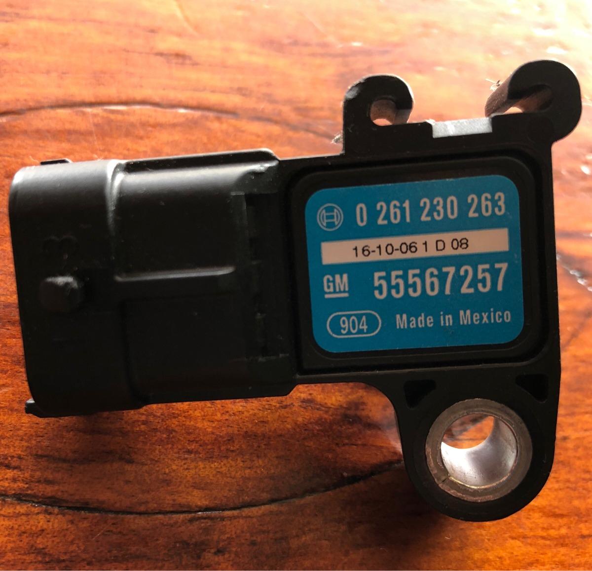 Map Sensor Location On 2011 Chevy Cruze: Sensor Map 0261 230 263 Chevrolet Sonic, Cruze 2011-2014