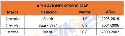 sensor map chevrolet spark spark 7/24 daewoo matiz