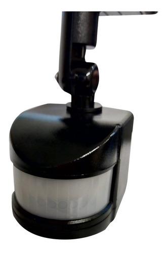 sensor movimiento 180° doble rotación 220v ajustable