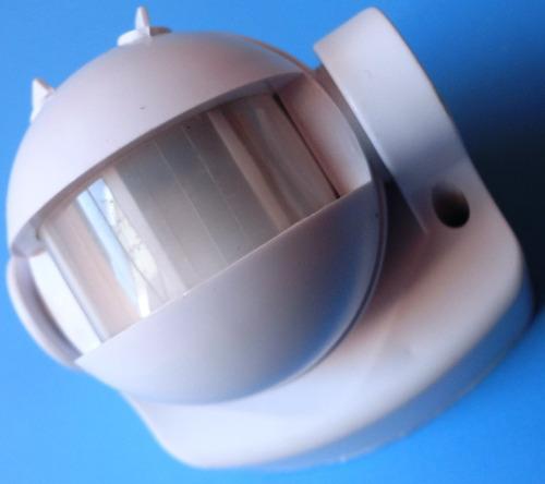 sensor movimiento 180° pared infrarrojo ahorro ip44 zurich