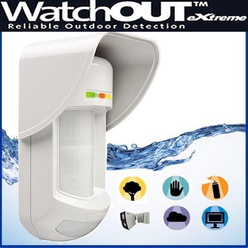 sensor movimiento alarma exterior watchout rk315dt